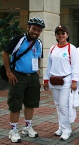 dedi & Ibu Sylviana Murni walikota Jkt Pusat 2009