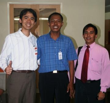 bersama Soetrisno dan Urip