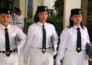 Murid SMK Negeri 3 Jakarta