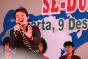 Group Band asal Lampung nyanyikan lagu ciptaan SBY