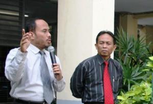 Saya dan Bp Bambang