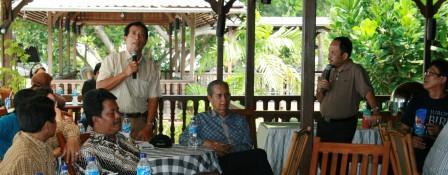 Bp. Suryadi Kepala SMK Kasih Ananda, sharring