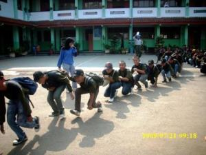 di halaman SMK Negeri 36 Jakarta