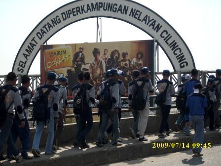 lingkungan SMK Negeri 36 Jakarta