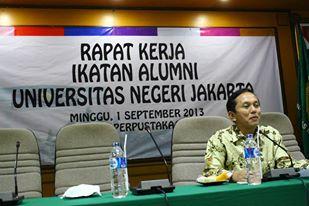 Sekretaris Umum IKA UNJ. Muchlas Suseno
