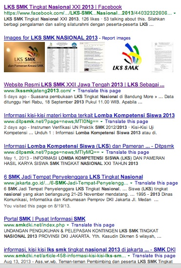 hasil searching