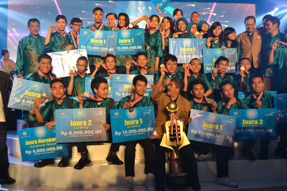 Daftar Nama Anak Anak Hebat Juara Lks Smk Tingkat Nasional Xxi 2013 Blog Pendidik
