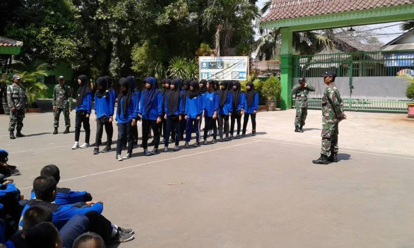 PBB dibimbing Tentara